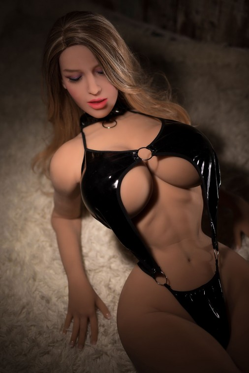 Gigi 165CM 5FT4 Closed Eyes Doggy Style Sex Slave Doll