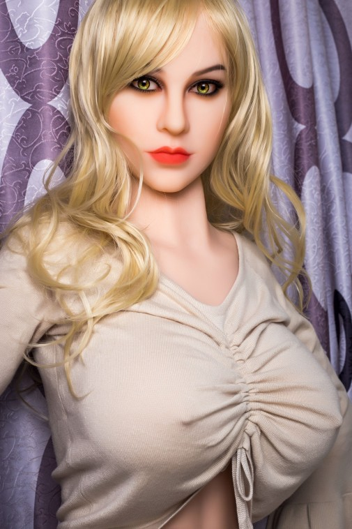 Catherine 161CM 5FT3 Blonde Sexy Kitty Real Lifelike Doll
