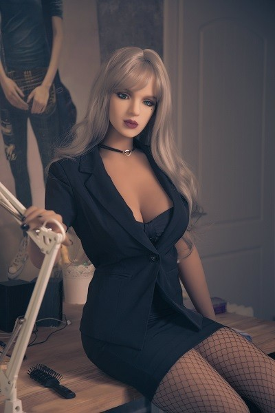 Camille 170CM 5FT6 latest Life Size Business Attire Qita Sex Doll