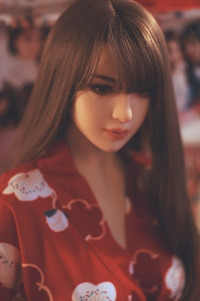 Fuji 145CM 4FT8 Kimono Dress & Paper Umbrella Japanese  Love Doll