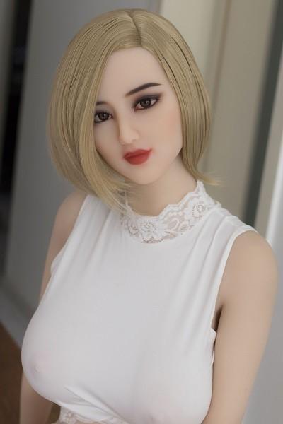 Ella 168CM 5FT5 Short Hair Graceful Big Eyes Real Doll