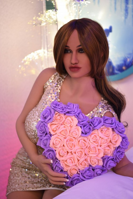 Rose 150CM 4FT9 Silver Short Skirt Sexy Lady Love Doll