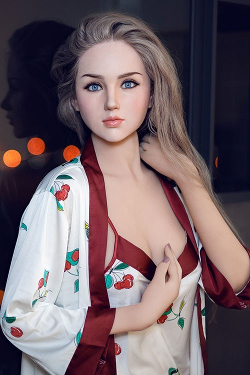 Misa 170CM 5FT6 Blue Eyes Long Hair Attractive Milf Sex Doll