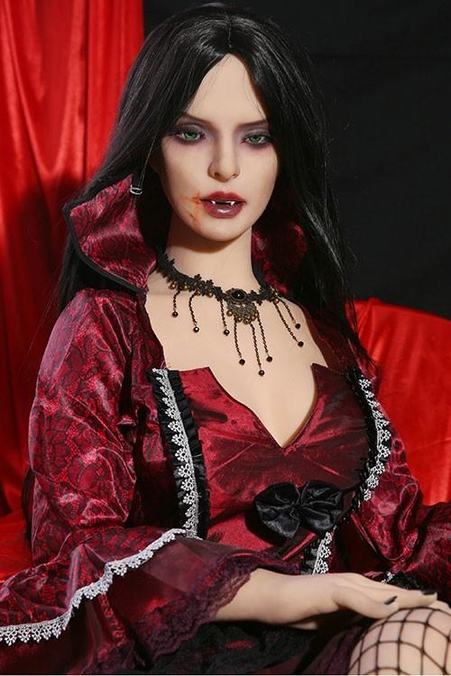Jasmine 158CM 5FT2 Horribly Beautiful Vampire Qita Anime TPE Sex Doll