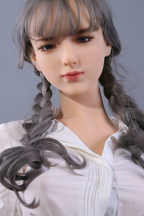 Katherine 168CM 5FT5 Gray Hair Eyeful Qita Doll TPE Material