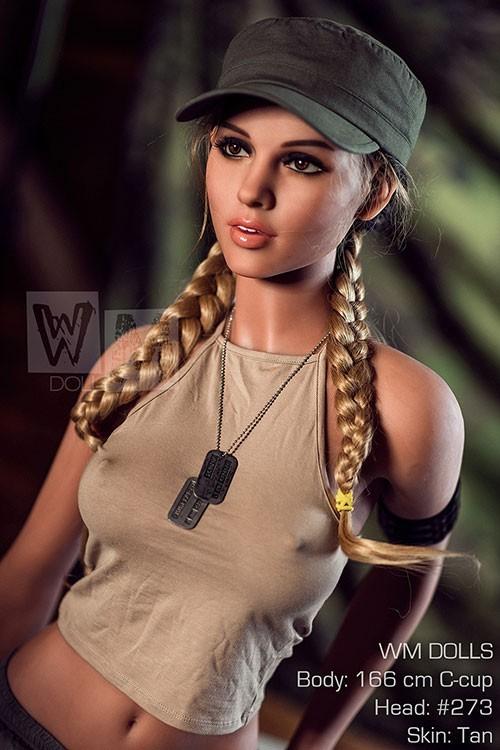 Chloe 166CM 5FT4 Brown Skin Flexible Stylish  Love Doll