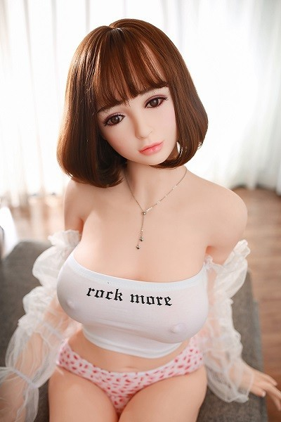Asuka 158CM 5FT2 Short Hair Necklace Graceful Japanese Sexy Doll